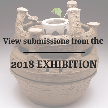 Clay Pot with text View submissions from the 2018 exhibition